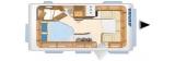 Eriba Nova 485 GL 60 Jahre Sondermodell layout