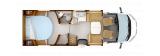 Rapido 696F Ultimate Line  mit Queensbett und Garage layout