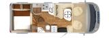Hymer B 594 Premiumline mit Garage layout