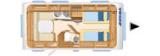 Eriba Nova Light 470 layout