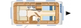 Hymer Eriba Nova Light 470 layout