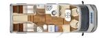 Hymer Tramp CL 578 60 Jahre Sondermodell layout