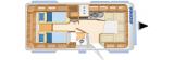 Eriba Nova 541 SL layout