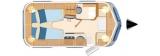 Eriba Troll 542 layout