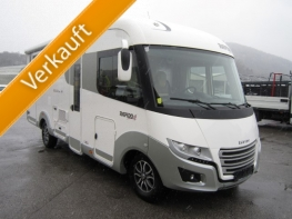 Rapido Distinction I80 mit Queensbett und Garage