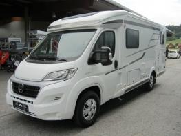 Hymer Exsis T588 Facelift mit Einzelbetten und Garage