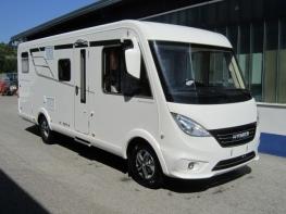 Hymer Exsis I588 Facelift mit Einzelbetten und Garage