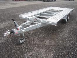 Pongratz Anhänger L AT 400 TK Tandem 2 Achser