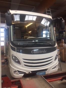 Concorde Carver 840L mit Garage
