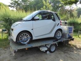 Autoanhänger mit Smart