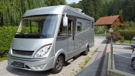 Hymer MLI 570 mit Einbetten und Garage