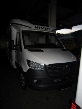 Hymer BMCT 580 mit Einzelbetten und Garage