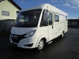 Hymer BMCI 580 mit Einzelbetten und Garage