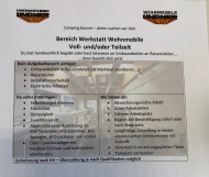 Wir suchen Verstärkung - Bereich Werkstatt Wohnmobile